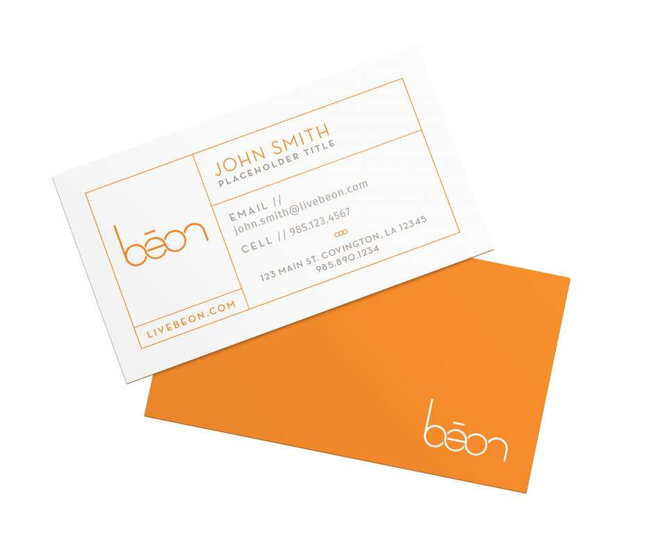 Beon Business Card Mockup