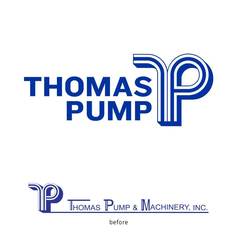 Thomas Pump Logo